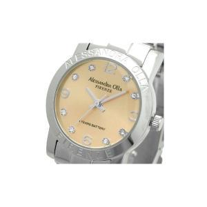 Alessandra Olla(アレサンドラオーラ)腕時計 ラウンドフェイス レディースウォッチ AO-715 ピンクゴールド|nijiiromarket
