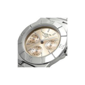 Alessandra Olla アレサンドラオーラ 腕時計 マルチファンクション レディースウォッチ AO-900-8 ピンクゴールド|nijiiromarket