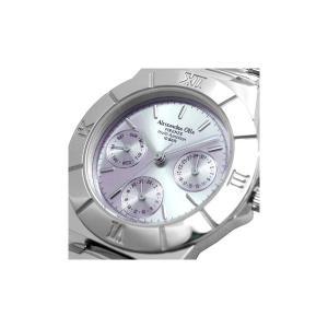 Alessandra Olla アレサンドラオーラ 腕時計 マルチファンクション レディースウォッチ AO-900-7 パープル|nijiiromarket