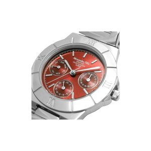 Alessandra Olla アレサンドラオーラ 腕時計 マルチファンクション レディースウォッチ AO-900-5 レッド|nijiiromarket