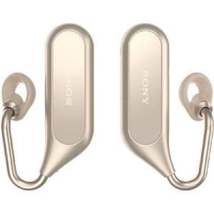 ソニー XEA20-N ゴールド ワイヤレスオープンイヤーステレオヘッドセット Xperia Ear Duo|nijiiromarket