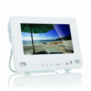イーバランスAivn 防水9インチワンセグチューナー搭載ポータブルDVDプレーヤーAI-903PDの画像