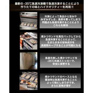 東京 八王子名物  冷凍の煮かつサンド ロース1人前 ヒレ1人前   冷蔵商品を一緒にご注文の場合送料別途(追加送料につきましては後ほどメールいたします) nikatsusand 04