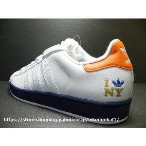 【新品】ADIDAS  SUPER STAR 35周年記念|CITY SERIES  NEW YORK(ニューヨーク)モデル|日本サイズ:26.5cm【132315】残り1点|nikedunkaf1
