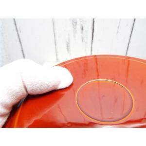【50%OFF】極美品|京都 漆器のアソベ|飛騨春慶塗(中山漆器)セット|給仕盆(8寸)+ 銘々皿揃5枚( 4.5寸)|1点物|nikedunkaf1|10