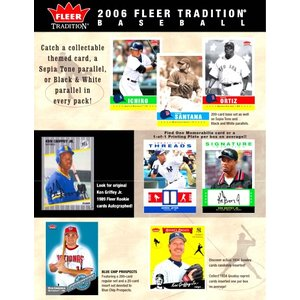MLB 2006 FLEER TRADITION BOX|niki