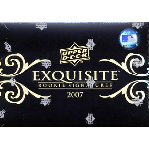 ■セール■MLB 2007 EXQUISITE ROOKIE SIGNATURES|niki