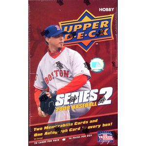 ■セール■MLB 2008 UPPER DECK 2 HOBBY|niki