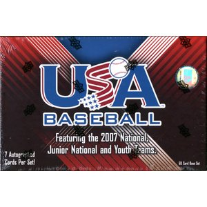 2008 USA BASEBALL NATIONAL TEAMS BOX SET|niki