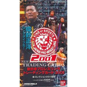 新日本プロレスリング トレーディングカード 2001 BOX|niki