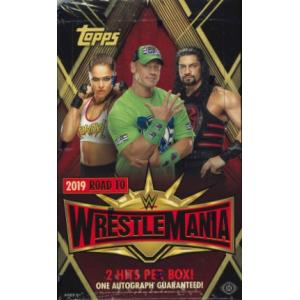 2019 TOPPS WWE ROAD TO WRESTLEMANIA TRADING CARDS BOX|niki