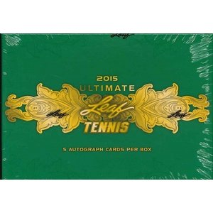 2015 LEAF ULTIMATE TENNIS HOBBY BOX|niki
