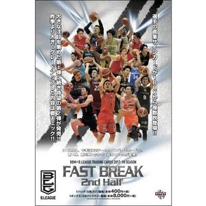 BBM×B.LEAGUE TRADING CARDS 2017-18 SEASON FAST BREAK 2nd Half BOX(送料無料)|niki