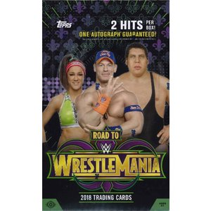 2018 WWE ROAD TO WRESTLEMANIA TRADING CARDS BOX(送料無料)|niki