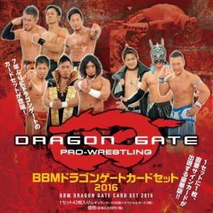 ■セール■BBM ドラゴンゲート カードセット 2016|niki