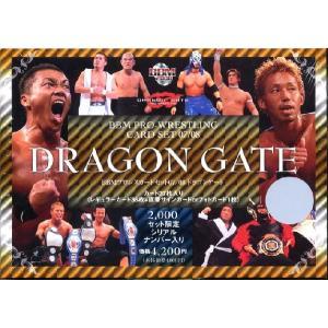 ■セール■DRAGON GATE BBM プロレスカードセット 2007/2008|niki