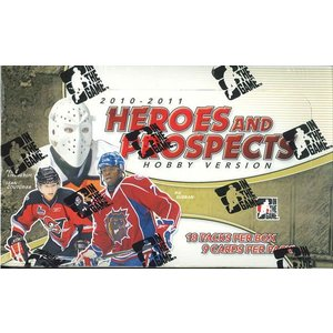 2010/2011 IN THE GAME (ITG) HEROES & PROSPECTS HOCKEY HOBBY VERSION|niki