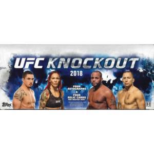 2018 TOPPS UFC KNOCKOUT BOX|niki