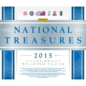 2015 PANINI NATIONAL TREASURE COLLEGE MULTI-SPORT BOX|niki