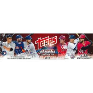 MLB 2018 TOPPS BASEBALL COMPLETE SET HOBBY|niki