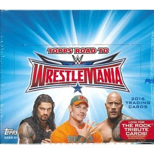 2016 TOPPS WWE ROAD TO WRESTLEMANIA BOX(送料無料)|niki
