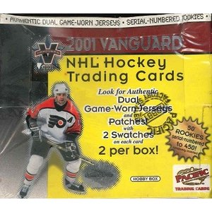 NHL 2001 PACIFIC VANGUARD HOCKEY BOX|niki