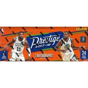 NBA 2017/2018 PANINI PRESTIGE BASKETBALL HOBBY BOX|niki