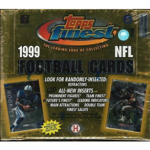 NFL 1999 TOPPS FINEST HOBBY BOX|niki