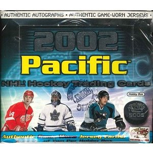 NHL 2002 PACIFIC HOCKEY HOBBY BOX|niki