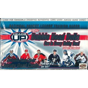 NHL 2002 PACIFIC HEADS UP HOCKEY BOX|niki