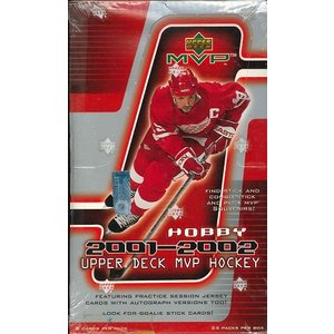 NHL 2001/2002 UPPER DECK MVP HOCKEY HOBBY BOX|niki