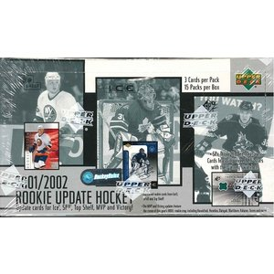 NHL 2001/2002 UPPER DECK ROOKIE UPDATE HOCKEY BOX|niki