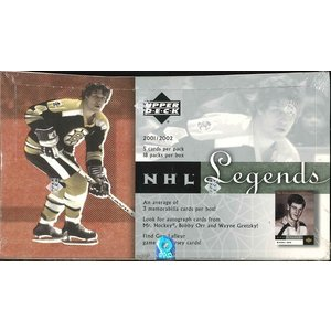 NHL 2001/2002 UD LEGENDS BOX|niki