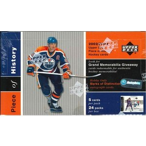 NHL 2002/2003 UPPER DECK PIECE OF HISTORY  BOX|niki