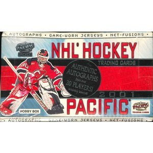 NHL 2001 PACIFIC HOCKEY HOBBY BOX|niki