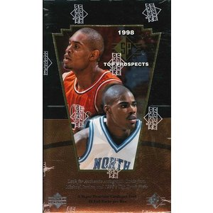 NBA 1998 UD TOP PROSPECTS BOX|niki