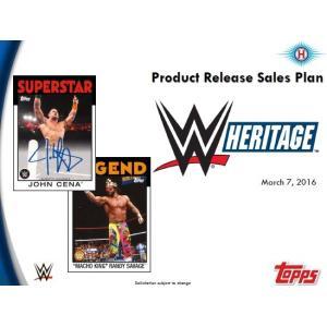 2016 TOPPS WWE HERITAGE BOX(送料無料)|niki