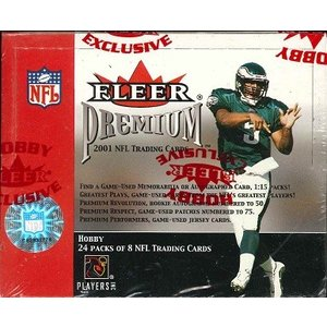 NFL 2001 FLEER PREMIUM FOOTBALL BOX|niki
