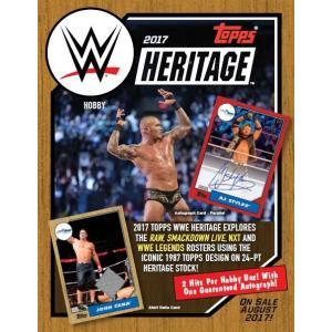 2017 TOPPS WWE HERITAGE BOX|niki