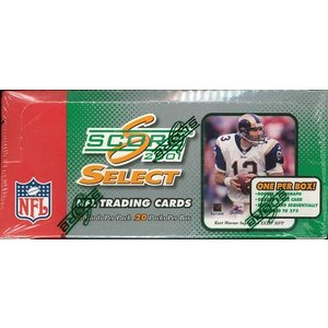 NFL 2001 SCORE SELECT FOOTBALL HOBBY BOX|niki