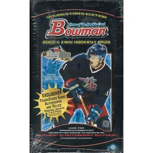 NHL 2002/2003 BOWMAN YOUNG STARS HOCKEY HOBBY BOX|niki