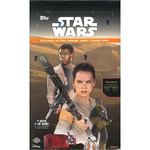 TOPPS STAR WARS THE FORCE AWAKENS : SERIES 2 BOX|niki
