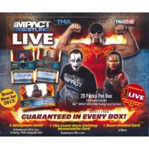 ■セール■2013 TNA IMPACT WRESTLING LIVE BOX|niki