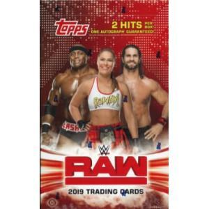 2019 TOPPS WWE RAW BOX(送料無料)|niki