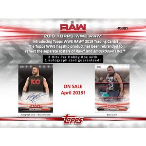 2019 TOPPS WWE RAW BOX(送料無料)|niki|02