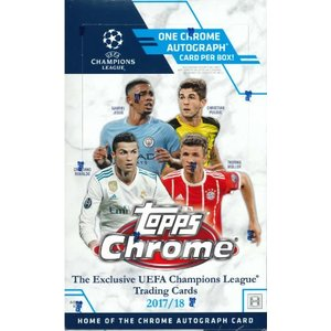 2017/18 TOPPS UEFA CHAMPIONS LEAGUE CHROME BOX|niki