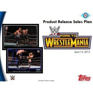 2015 TOPPS WWE ROAD TO WRESTLEMANIA BOX|niki
