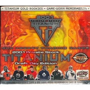 NHL 2000/2001 PACIFIC TITANIUM DRAFT DAY EDITION BOX|niki