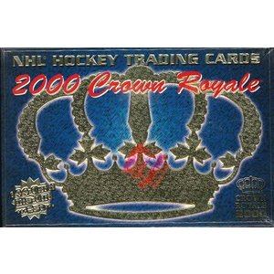 NHL 2000 CROWN ROYALE HOCKEY HOBBY BOX|niki
