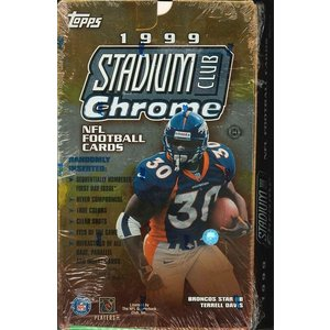 NFL 1999 TOPPS STADIUM CLUB CROME BOX|niki